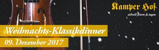 Kamper Hof Weihnachts Klassikdinner